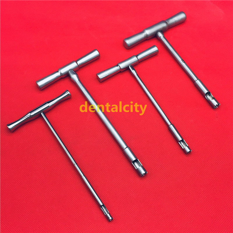 4pcs Hollow Mill for Removal of Bone Screws Extractor orthopedics instrument4pcs Hollow Mill for Removal of Bone Screws Extractor orthopedics instrument
