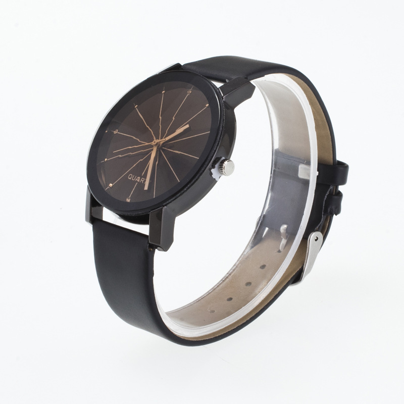 0304 Belt Lovers Surface Meteor Shower Personality Lovers Student Wrist Watch in Lover 39 s Watches from Watches