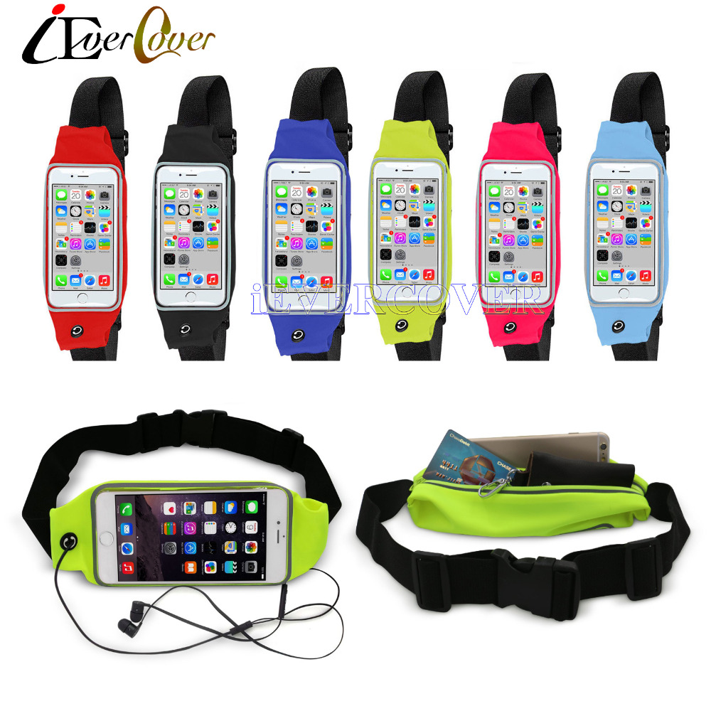 super popular e4104 874a7 US $4.03 19% OFF Waterproof Sport Running Waist Bag Band Fitness Pouch Case  for Huawei Honor 7x / 9i, Nova 2i , Mate 20 10 Lite / Pro , Maimang 6-in ...