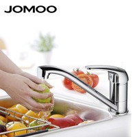 JOMOO Kitchen Faucet Chrome Polish Single Handle Single Hole Spout Swingable Kitchen Mixer Tap Australian Wels