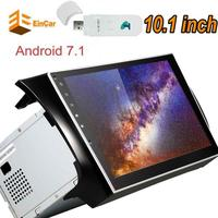 3G Dongle 10 1 Inch Android 7 1 Nougat Car PC Stereo Player Gps Autoradio For