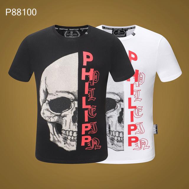 Drop Shipping 2019 brand o-neck Short sleeve tees Men's T Shirt Tshirt Men and women Fashion Casual Male T-shirt tops clothing