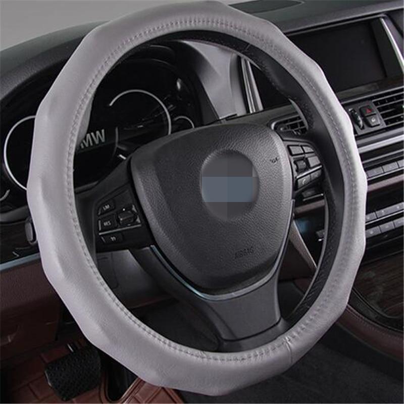 Universal size 38cm Anti slip font b Car b font Steering wheel Cover font b Interior