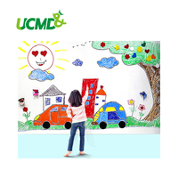 Big Soft Whiteboard Doodle Wall Panel Adhesive Magnetic Whiteboard Paper Big Whiteboard Wall Stickers