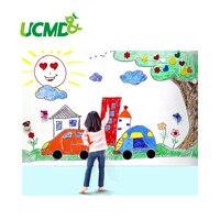 Big Soft Whiteboard Doodle Wall Panel Adhesive Magnetic Whiteboard Paper Big Whiteboard Wall Stickers