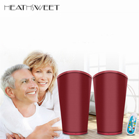 Healthsweet Electric Heated Kneepad Support Belt Knee Massager Warm Old Leg The Elderly Arthritis Fever Knee Pain Relief Therapy