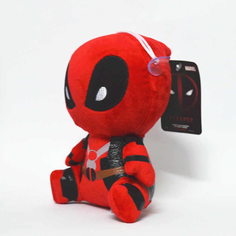 20 centímetros Filme X-homem Deadpool Marvel homem Aranha Boneca Macia Boneca de Brinquedo de Pelúcia Brinquedo Crianças Brinquedos de Aniversário decoração presentes do Partido Do presente