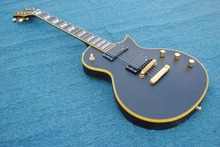 2017 New Guitar + Factory + matte black ESP Eclipse electric guitar ESP standard flag inlays eclipse guitar with gold hardware(China)