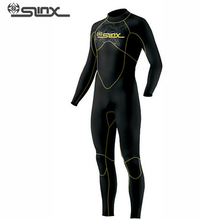 SLINX DISCOVER 1106 5mm Neoprene Men Fleece Lining Warm Wetsuit Swimming Snorkeling Triathlon Spearfishing Scuba Diving Suit