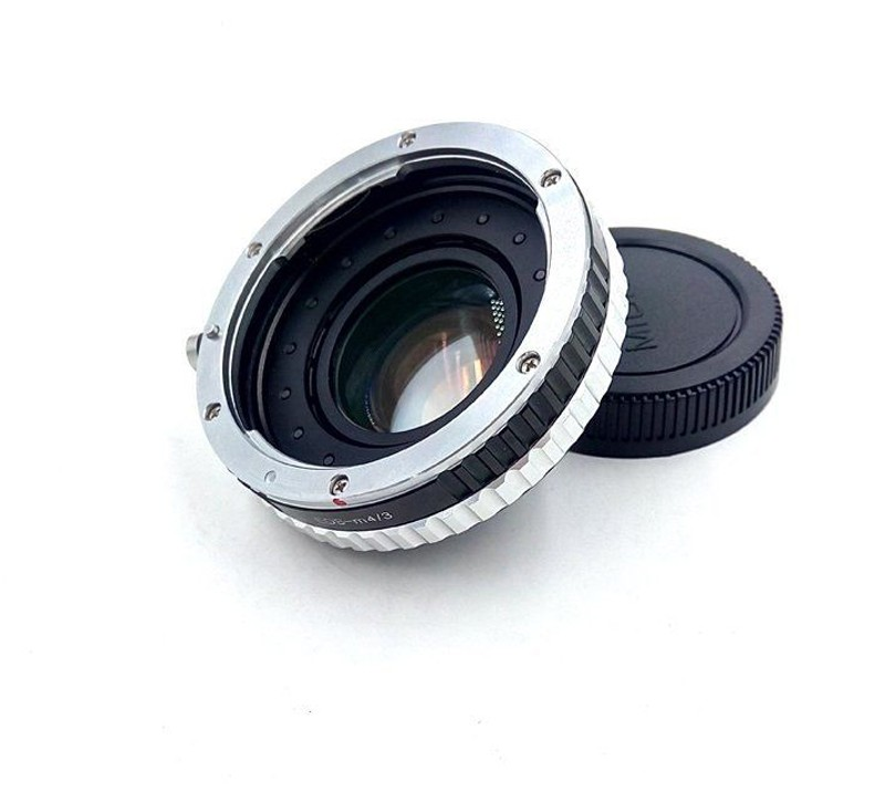 Focal Reducer Speed ​​Booster Adapter w / Aperture para Canon EF - Cámara y foto - foto 3