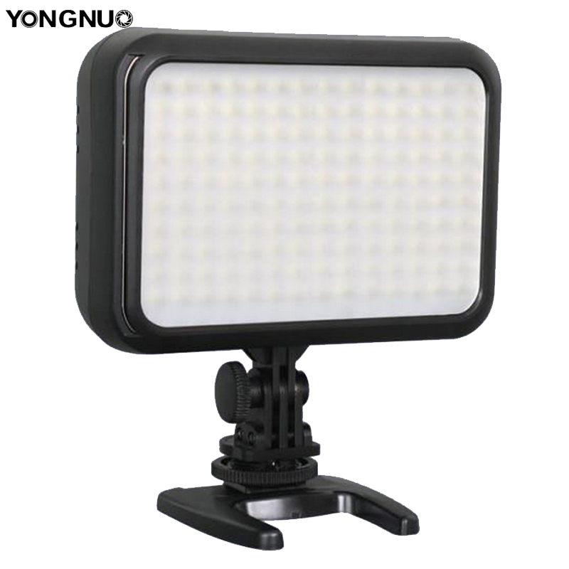 yongnuo led 140 - YONGNUO YN-1410 140-LED Video Light Flash Speedlite for Canon Nikon DSLR Video Flashlight Camcorder Action