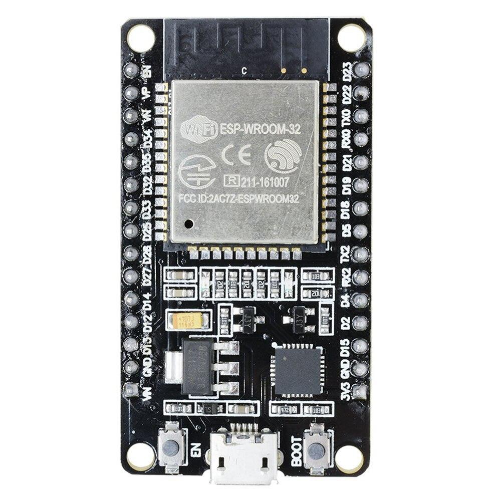 ESP32 ESP-32S ESP 32 ESP32S ESP-32 Placa de desarrollo, WiFi Bluetooth Ultra-bajo consumo de energía Dual núcleos similares ESP8226