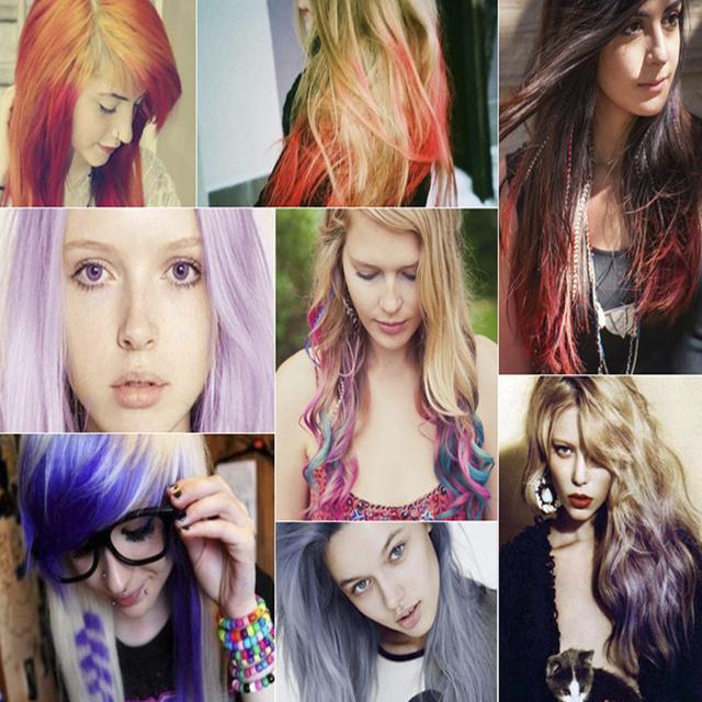 Temporary Hair Dye Comb