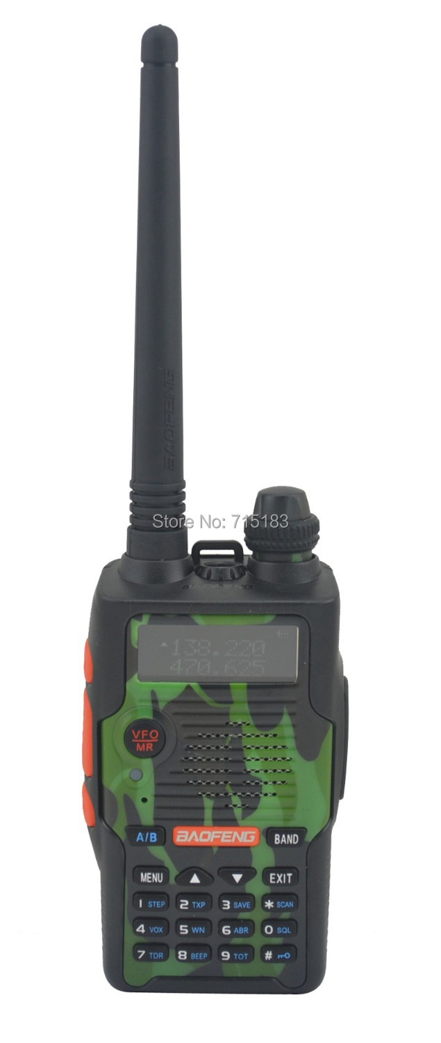 10pcs/set Baofeng BF-E500S VHF136-174MHz&UHF400-520MHz Dual Band 5W Walkie Talkie with Free Earphone Portable Two-way Radio
