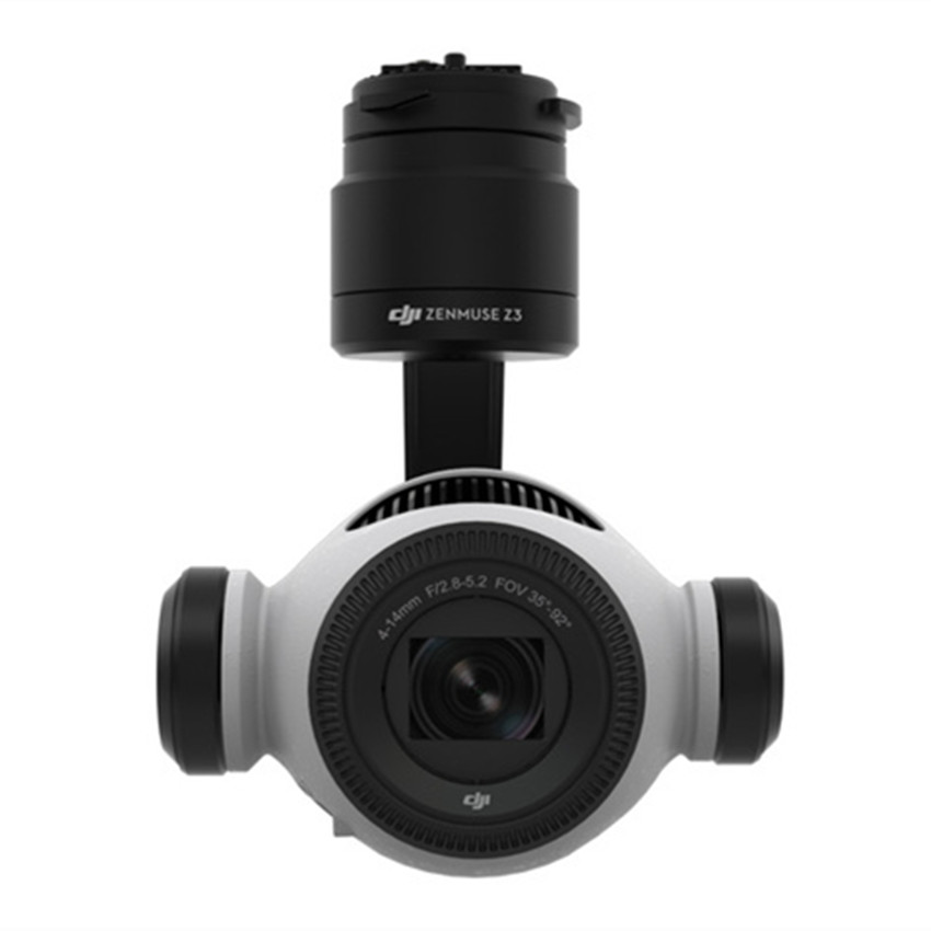 original DJI Zenmuse Z3 gimbal and camera supports the Inspire 1 series, Inspire 1 v2.0, Matrice 100, Matrice 600