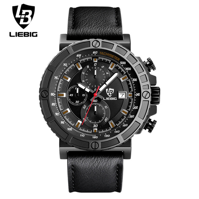 2018 Men Fashion Military Sports Watches Leather Strap Man Watch Waterproof Quartz Wristwatches Relogio Masculino new listing bellmers brand high grade watches leather strap men waterproof quartz watch relogio masculino sports wristwatches