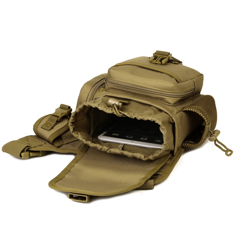 Outdoor Army Military Tactical Waist Bag Waterproof Hiking Fishing Hunting Pack Single Shoulder Bag For Men 8 Colors
