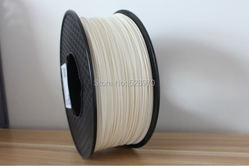 White ABS 3d printer filament 3mm 1KG high quality ultimaker/RepRap/UP plastic Material 3D printing 3d printer filament 1kg 2 2lb 3mm pla plastic for mendel white