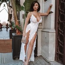 Seamyla Women New Sexy Jumpsuits 2019 Summer Spaghetti Strap Bodycon H