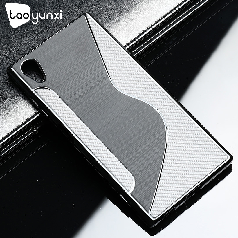 TAOYUNXI Soft TPU Case For Sony Xperia XA1 Plus Case Silicone Flexible Black Anti-knock For Sony G3412 G3421 G3423 G3416 Covers image
