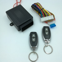 12V Auto Central Locking Kit Start Stop 2 Remote Control Remote Control Central Car Alarm Systems Vehicle Keyless Entry System