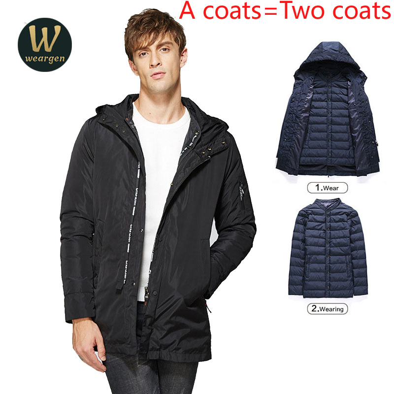 Combo Clothing Winter Men Jacket  Casual High Quality Soild Color Mens Jackets And Coats Thick Parka Male Outwear Large Size hot sale winter jacket men fashion cotton coat warm parka homme men s causal outwear hoodies clothing mens jackets and coats