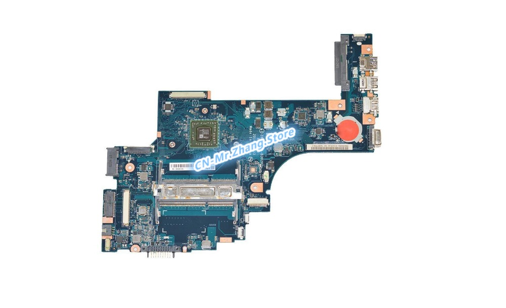 SHELI FOR Toshiba Satellite C50D C50D-B-018 Laptop Motherboard W/ FOR E1-2100 CPU K000891200 ZKWAE LA-B302P DDR3 Test 100% goodSHELI FOR Toshiba Satellite C50D C50D-B-018 Laptop Motherboard W/ FOR E1-2100 CPU K000891200 ZKWAE LA-B302P DDR3 Test 100% good