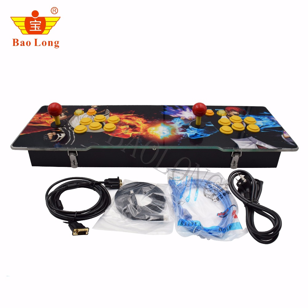 2018 Arcade Controller Buttons Joysticks with Jamma 1388 in 1 Game Board Pandora Box 5 PCB Board Controller