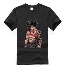 2019 new T-shirt Round neck Dragon Ball Cool Japan Anime Cartoon comics Summer dress men tee Cotton Funny t shirt Retro