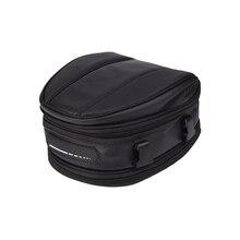 Back Seat Bag Shoulder Waterproof Universal Carry Saddle Package Helmet Motorcycle Rear Tail