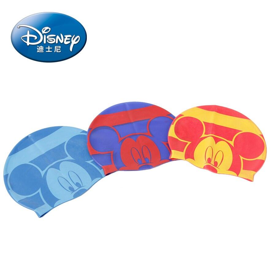 Cartoon Swimming Cap Kids Children Swimming Cap Waterproof Protect Ears Long Hair Boys Girls Swim Pool Caps Hat For 3-10years