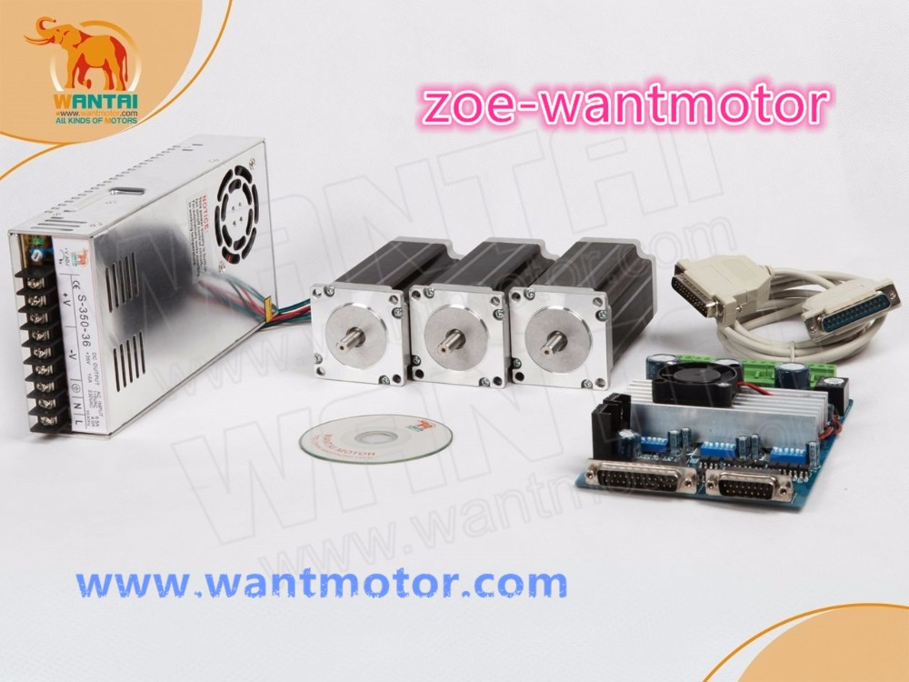 Cheap price!Wantai <font><b>CNC</b></font> Nema 23 Stepper Motor 57BYGH603 1A 290oz-in+<font><b>3</b></font> <font><b>Axis</b></font> Driver Board TB6560 Foam Laser <font><b>Mill</b></font> Engraver <font><b>Kit</b></font> image