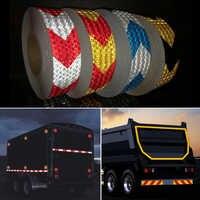 Cinta reflectante de 50mm x 50m cinta de visibilidad para camión
