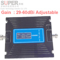 new GSM 980 gain 60dbi adjustable 20-60db LCD display phone booster repeater GSM repeater booster,GSM signal booster gsm booster