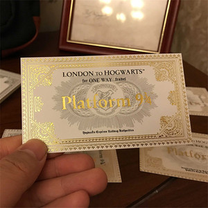 Image 5 - New Popular The Marauders Map HP Harry Wizard School Ticket Students Collection Gifts Fans Party