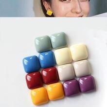 10 шт разноцветные бусины из кабошона