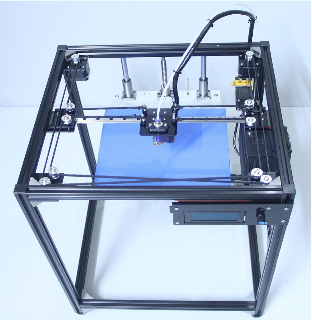 ifancybox3 single black 300*200 big size 3D Printer Machine Ramps1.4 plus2 corexy 3d printer kit все цены