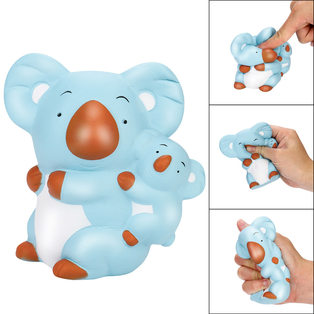 MUQGEW Squishies Funny toys Cute Koala Rising Kawaii Scented Soft Squeeze Stress Reliever gift For Children Jouet Enfant GB2