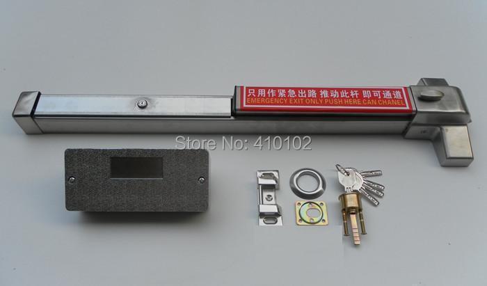304 Stainless Steel Fire Door Panic Bar Panic Exit Device