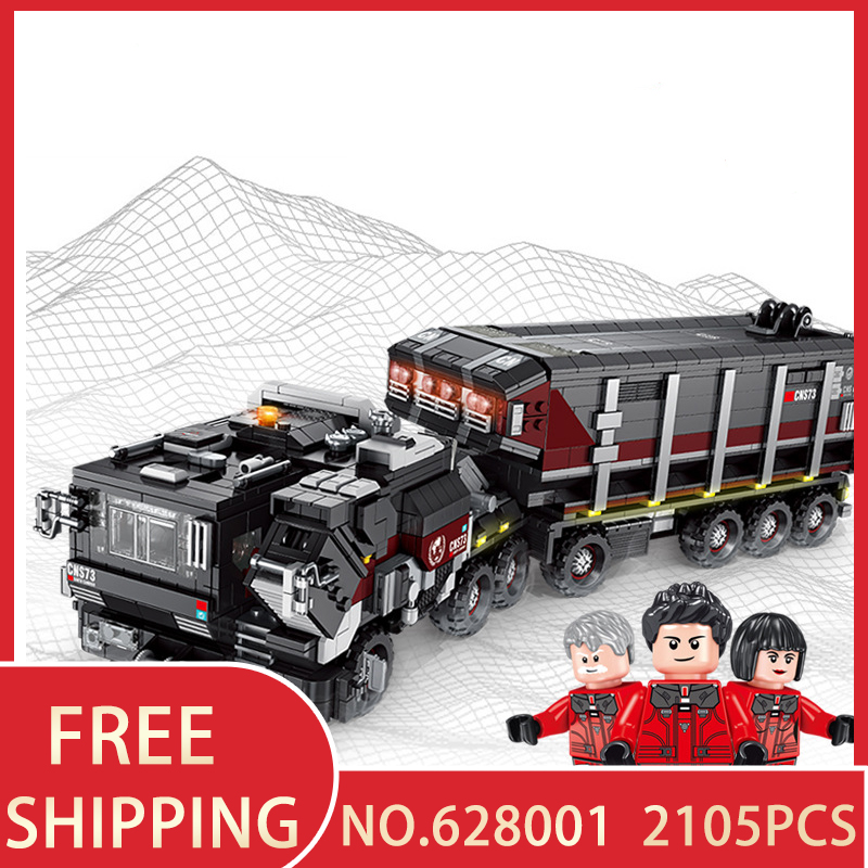 Building blocks The Earth Truck 628001 2105pcs Compatible with legoingly Technology Bricks figures Educational toys for childrenBuilding blocks The Earth Truck 628001 2105pcs Compatible with legoingly Technology Bricks figures Educational toys for children