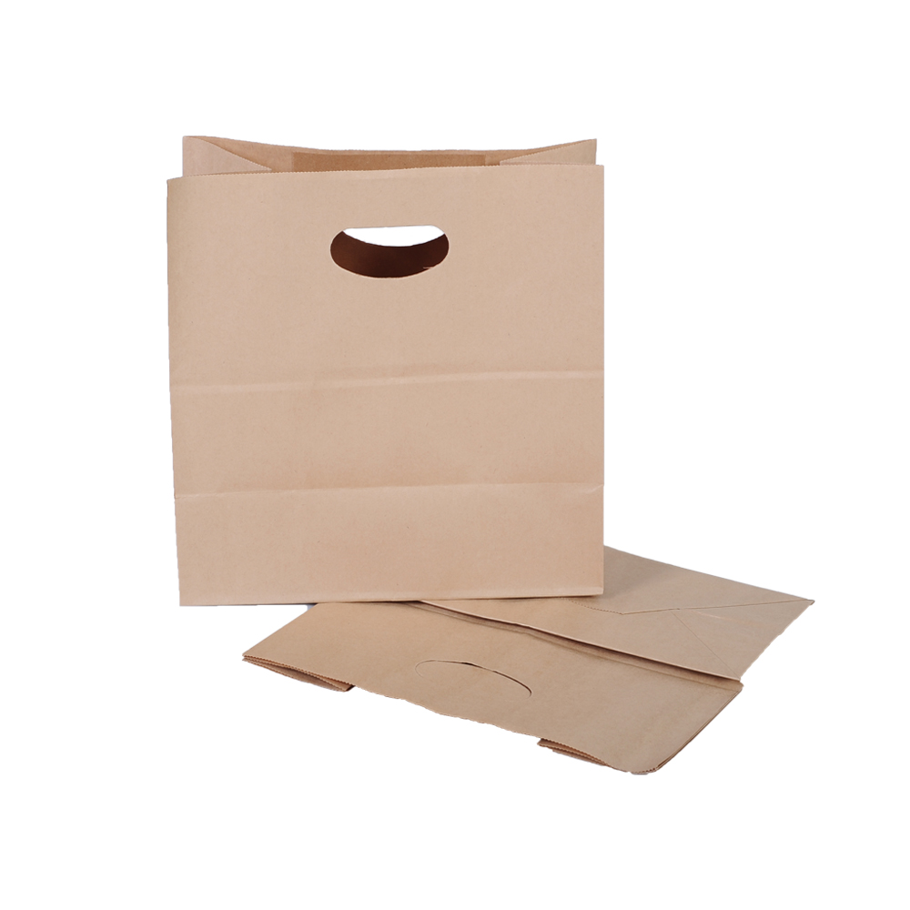 Custom Shopping Paper Bag For Food Packaging