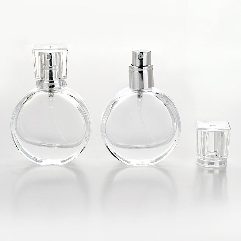 20ml Empty Glass Perfume Bottle Portable Empty Refillable Bottle Traveler Spray Atomizer Perfume Bottle 100ml empty vintage crystal perfume bottle spray atomizer refillable glass bottle