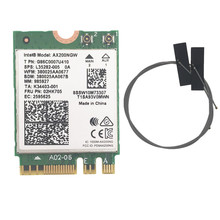 Wireless for Intel AX200 AX200NGW 1730Mbps NGFF M.2 Bluetooth 5.0 Dual Band Wifi Network Card 802.11ac/ax Better than Intel 9260 new for intel dual band wireless n 7265 7265ngw 802 11n 2 x 2 wifi 300mbps ngff m 2 card 7265nb 2 4g 5g