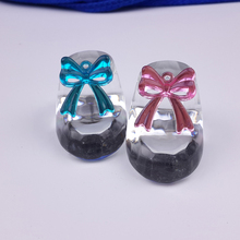 12PCS/LOT Crystal Baby Shoe Paperweight Party Favors Gifts For Wedding Baby Showers Souvenirs