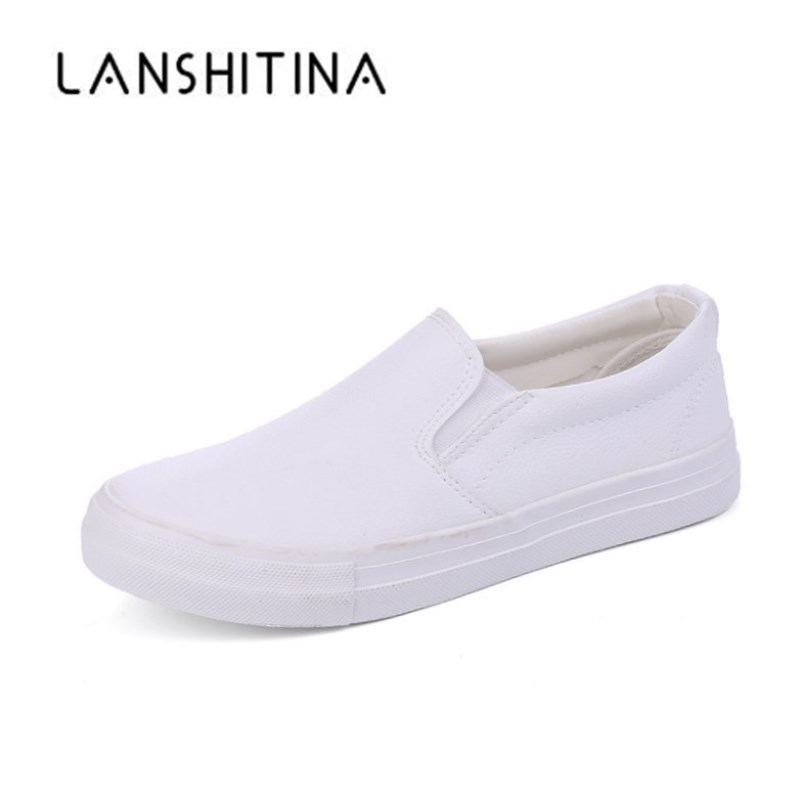 2018 New Arrival Sneakers Mens Breathable High Quality Casual Shoes Leather Canvas Casual Shoes Slip On men Fashion Flats Loafer hot sales new fashion dandelion spikes mens loafers high quality suede black slip on sliver rivet flats shoes mens casual shoes