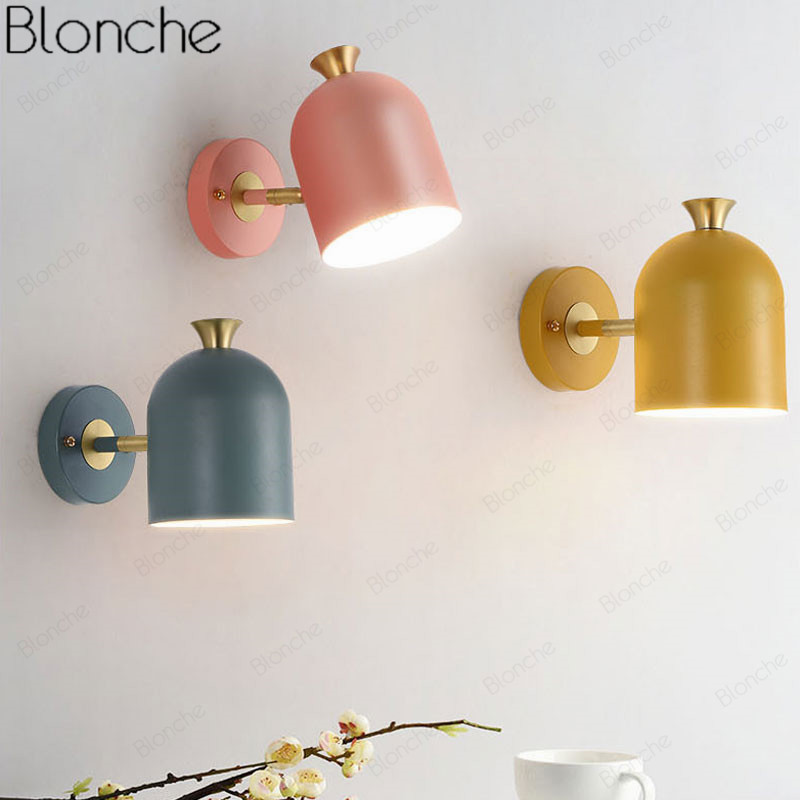 Nordic Wall Lights Bedside Wall Lamp Bedroom Wall Sconce For