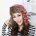 High Quality 2014 Winter Hat Warm Proof Trapper Hat Women Aviator Hat Russian Hat Outdoor Far Flaps Bomber Caps For Men & Woman