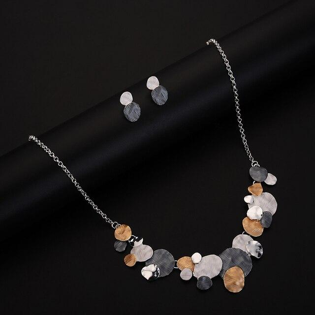 Unique Design Circular Geometric Jewelry set 6