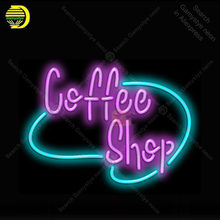 Neon sign Coffee ShopNeon Light Sign Neon Bulb Sign Decor Store Neon lamp great gift luminoso Atarii Dropshipping for sale(China)