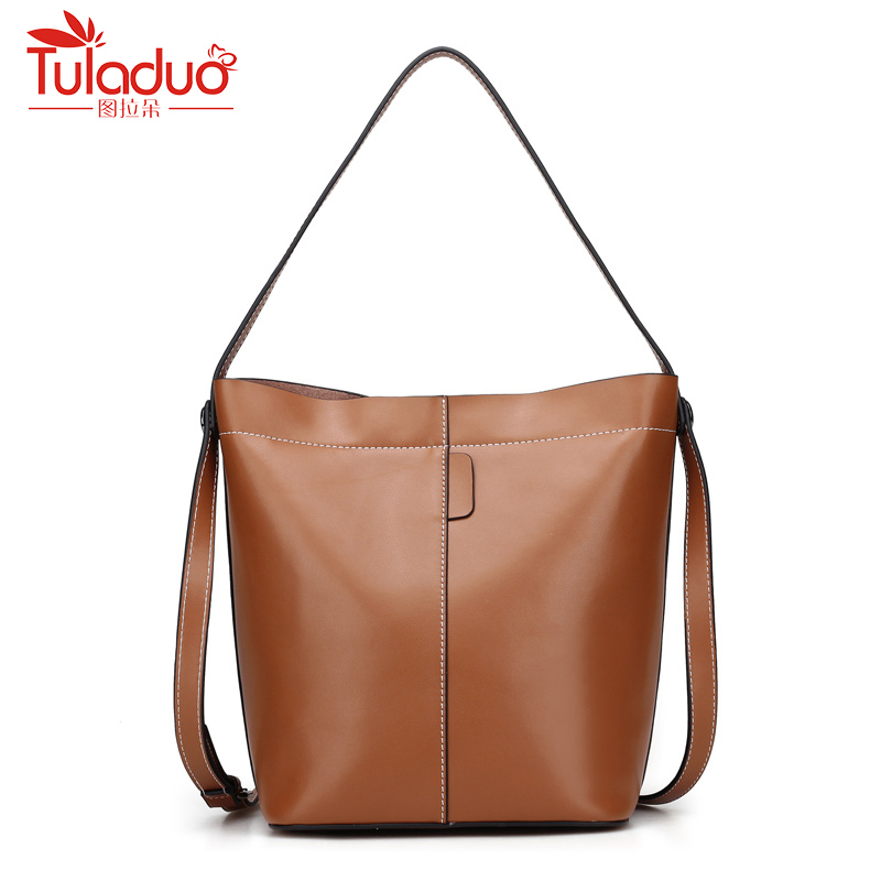 Women Messenger Bags 2018 New Fashion Genuine Leather Women's Shoulder Bag Crossbody Bags Casual Famous Brand Ladies Handbags qiaobao 100% genuine leather bags new 2017 fashion brand ladies crossbody shoulder bag women messenger bags l3001